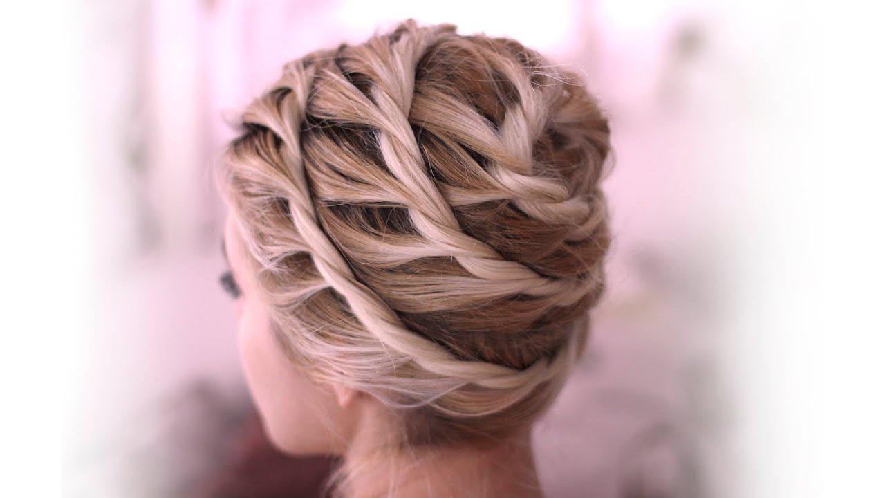 everyday updo hairstyle medium