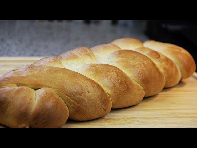 Homemade Plait (braided) Bread | CaribbeanPot .com