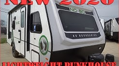 2020 No Boundaries 19.7 Bunk Model Trailer by Forestriver at Couchs RV Nation a RV Wholesaler Review