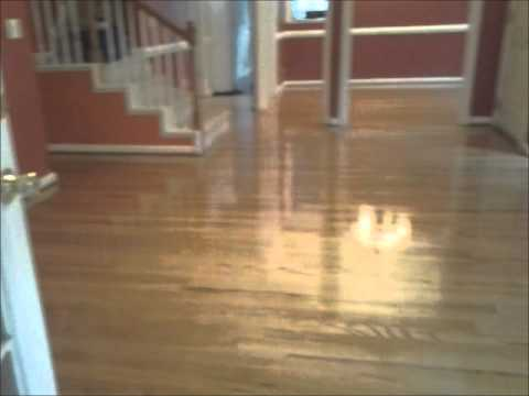 Engineer Repair And Refinished After Pt 2 Hardwood Floor
