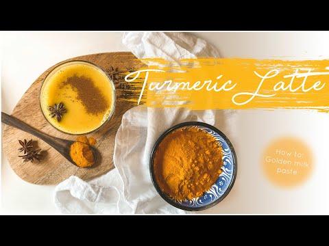 Turmeric Latte // How to make Homemade Golden Milk Paste