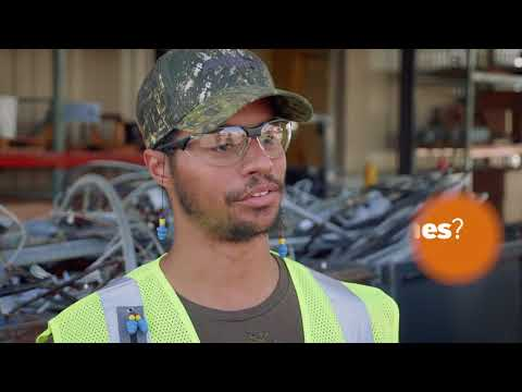 James loves his job! - A story from the Arc of Spokane's Employment Program