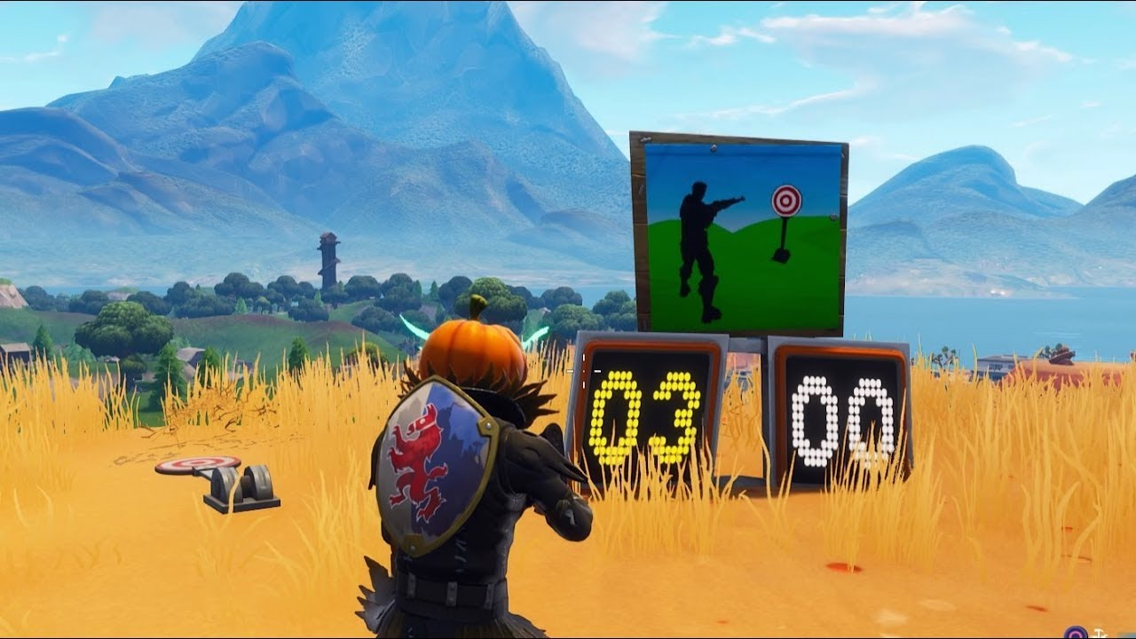 Fortnite Battle Royale All Shooting Galleries Locations Season 6