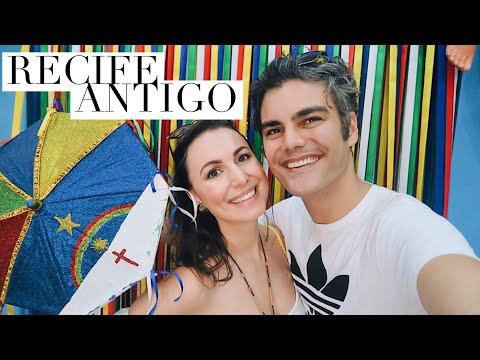 RECIFE ANTIGO - NOSSO ROTEIRO - PERNAMBUCO | VLOG