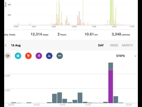 Fitbit to Google fit sync setup