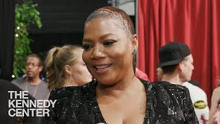 Queen Latifah On LL Cool J — Backstage At The Kennedy Center Honors 2017