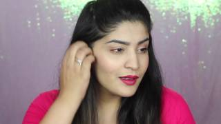 Last minute Easy and Affordable Makeup, Hair and Outfit for Diwali   Diwalog Day 20