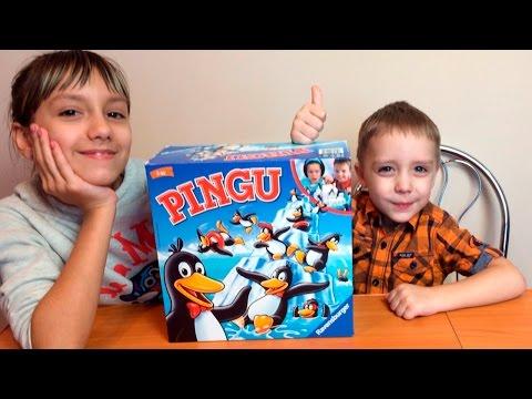 Игра Пингвины на льдине | Pingu