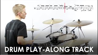 'Funky Fifteen' – Free Drum Play-along Track and Transcription
