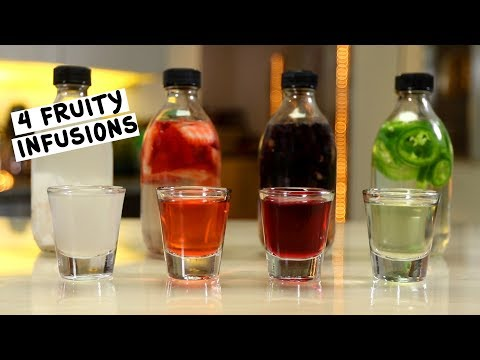 Four Fruity Infusions