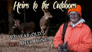 PA Rifle Season | Huntress Takes Her First Buck! | Youth Hunting | - Heirs to the Outdoors