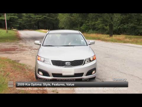 2009 Kia Optima Used Car Report
