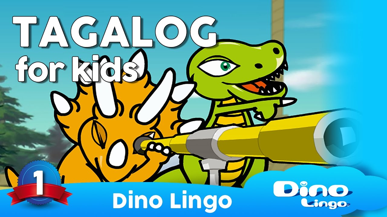 small resolution of DinoLingo Tagalog for kids - Learning Tagalog for kids - Tagalog Filipino  lessons - YouTube