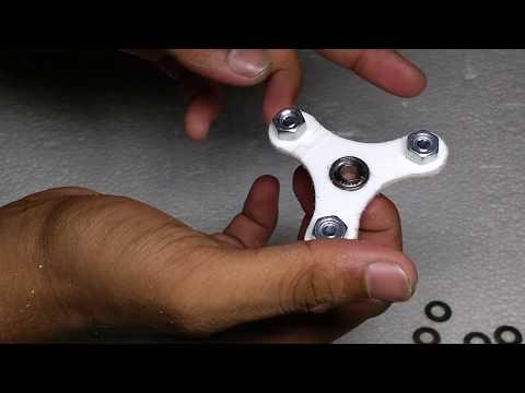 DIY fidget spinner in less than $0.50!