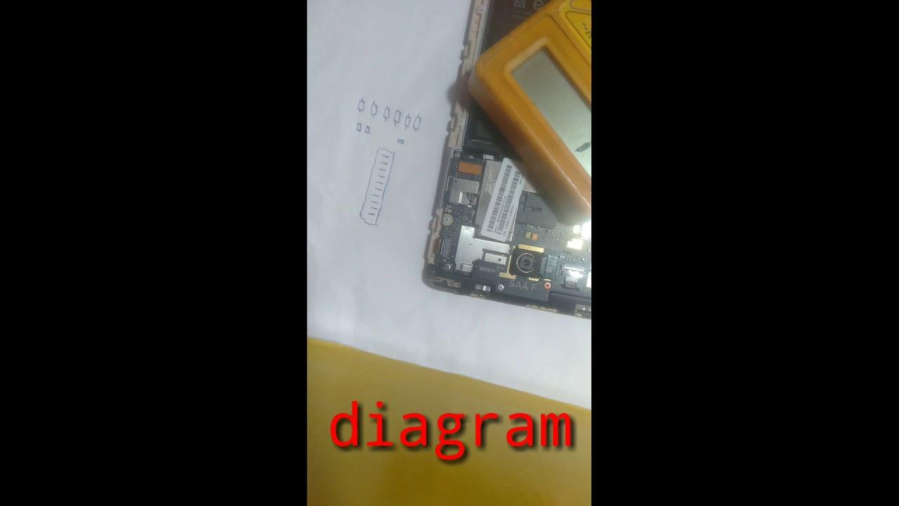 Redmi Note3 Touch Jumper Way Diagram