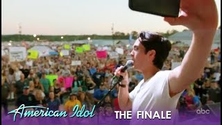 Laine Hardy BREAKS DOWN Crying At His Homecoming Parade Concert | American Idol 2019