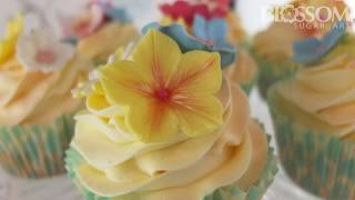 Pretty Hawaiian Flowers from Blossom Sugar Art