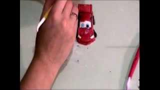 Машина из мастики