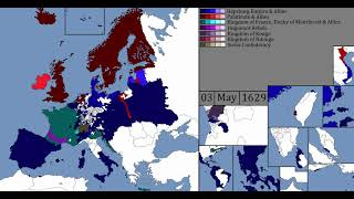 Thirty Years' War - Every Week (1618-48)