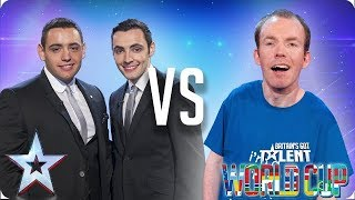 Richard & Adam vs Lost Voice Guy | Britain's Got Talent World Cup 2018