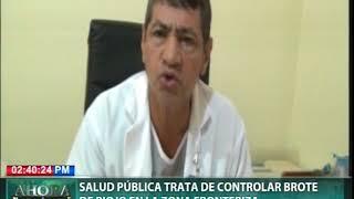 Salud Pública trata de controlar brote de piojo en la zona fronteriza