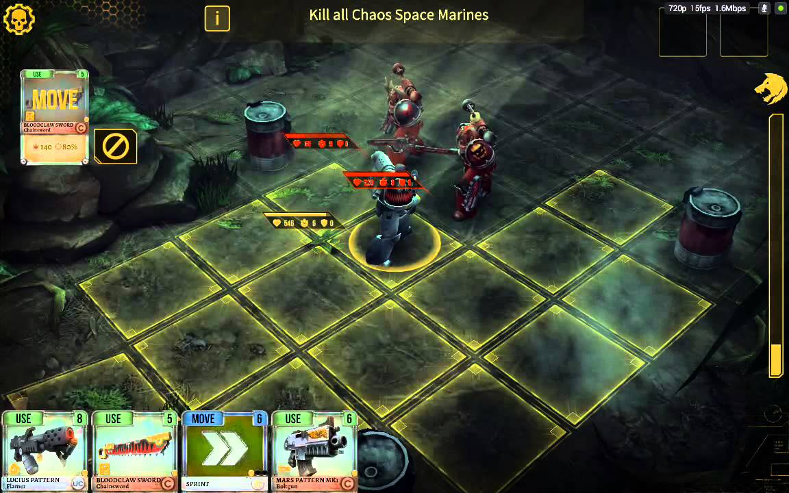 Warhammer 40,000: Space Wolf-Android HD Gameplay - YouTube