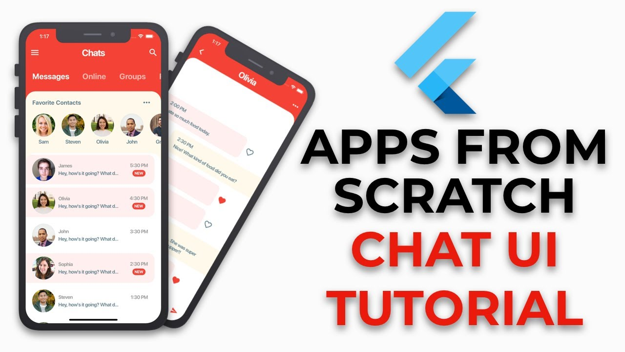 Flutter Chat UI Tutorial   Apps From Scratch