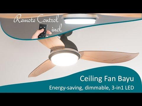Energy Saving Ceiling Fan Bayu 122 Cm