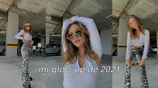 GLOW UP 2021 - escogiendo outfit, curtain bangs!