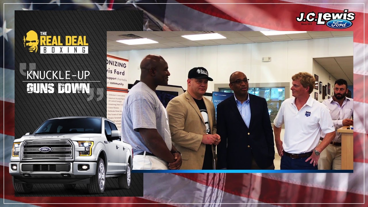 Jc Lewis Ford >> J C Lewis Ford And Real Deal Sports Team Up For Savannah