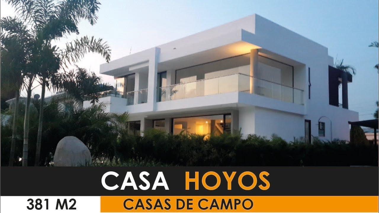 Presentacion 2018 casa moderna de lujo Hoyos. - YouTube