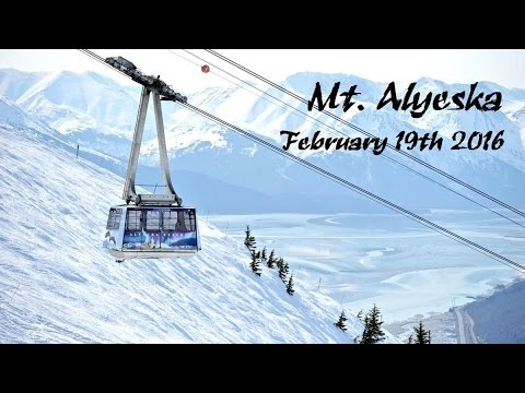 Alyeska Ski Resort February 2016