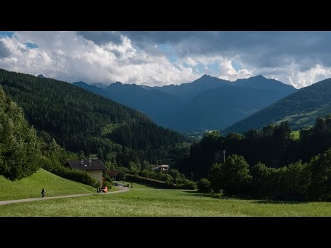 The München-Venezia cycle route: 1: Brenner to Fortezza Franzensfeste