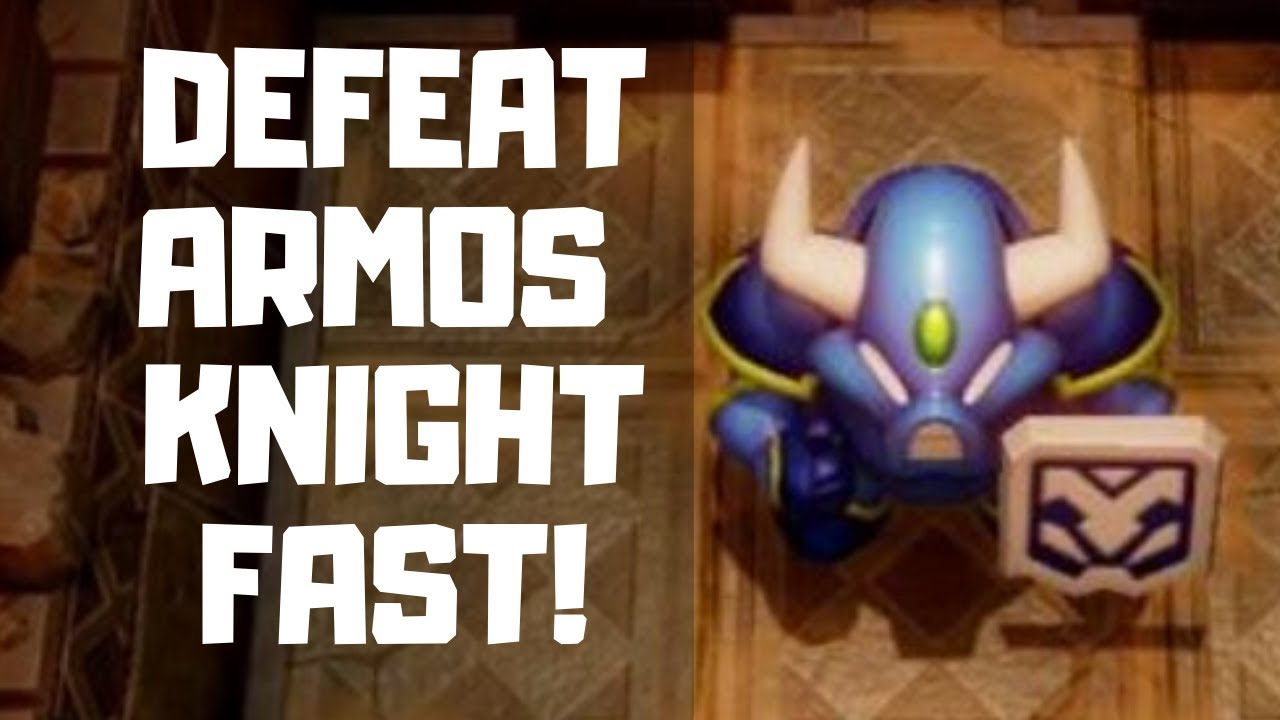 Download How to Defeat Armos Knight and Get the Face Key in Link's Awakening! (EASIEST WAY!)