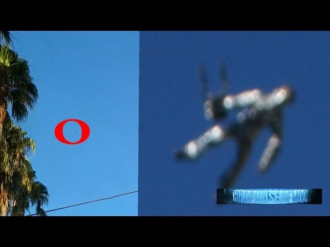 DAMN!!! Flying UFO Humanoid Spotted Spying On CA Baffled Residents!? NASA SCRUBS ISS Feed 8/5/2016