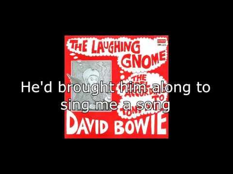The Laughing Gnome   David Bowie + Lyrics