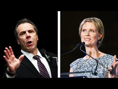 Cynthia Nixon Roasts Andrew Cuomo