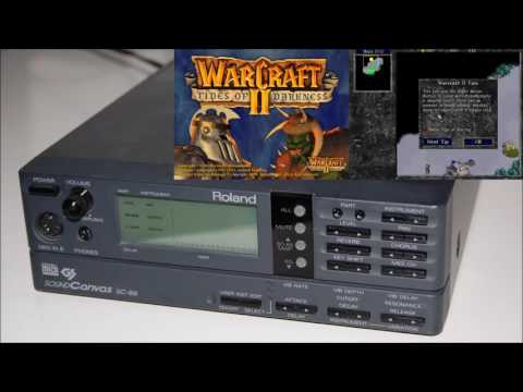 Warcraft II: Tides of Darkness - Roland SC-88 MIDI Soundtrac