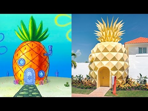 5 Kuća Iz Crtanih Filmova Koje POSTOJE U Stvarnosti