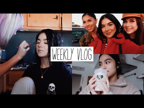 WEEKLY VLOG #28 | BACK FROM AZ + PHOTOSHOOT BTS | Faye Claire