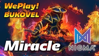 Miracle Ember Spirit - NIGMA vs FIGHTING PANDAS - Dota 2 WePlay! Bukovel