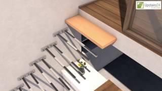 Bandeaux goutti res avant toits en gironde renosystemes - Escalier suspendu leroy merlin ...