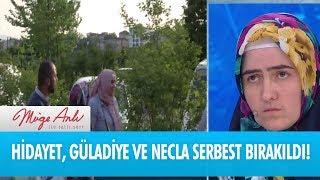 Hidayet, Güladiye ve Necla serbest bırakıldı! Müge Anlı ile Tatlı Sert 2 Haziran 2017 - atv