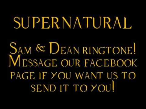 Ringtone Dean & Sam Supernatural Simple Man