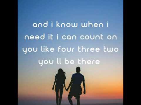 Lirik Lagu Count On Me