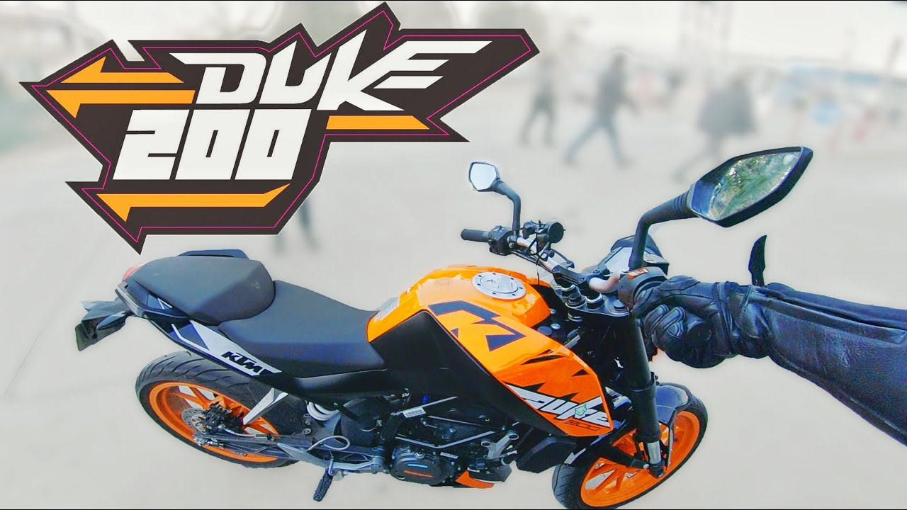 KTM Duke 200 – როგორ ხდება მოტოს გადაფორმება
