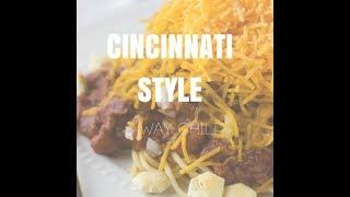 Classic Cincinnati Style 3 Way Chili Recipe