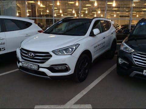 Test-Drive Hyundai Santa Fe 2016 | Обзор Hyundai Santa Fe 2016 | Adaptive Cruise Control