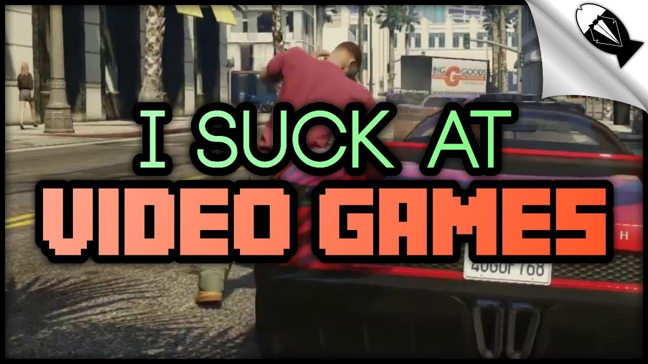 I suck at games, spanish handjob video