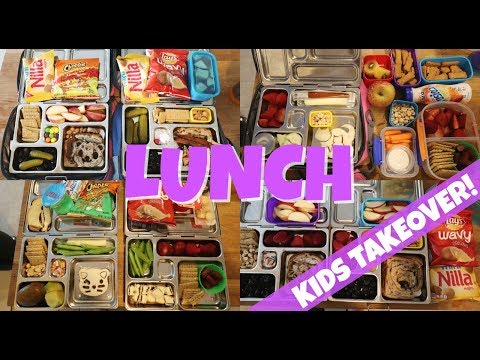 School Lunch Ideas - Kid's TAKEOVER! 🍊 Week 20 | Sarah Rae Vlogas |